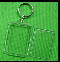 amethyst photos - Diy Acrylic Blank Photo Keychain Keychain Photo Insert Molded Clear Plastic Key Chain