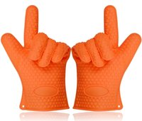 bbq cooking recipes - HOT GLOVES Heat Resistant Cooking Gloves Premium Quality Oven Gloves BBQ Gloves Gloves orange Bonus Premium BBQ Recipes Cook