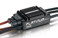 align trex - Original Hobbywing Platinum A V3 High Performance ESC for Align TREX RC Helicopter Fixed Wing