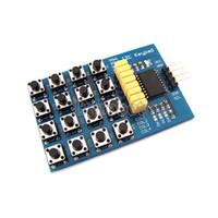 Wholesale I2C keypad Module Key x Membrane Switch Keypad x4 Matrix Array Matrix keyboard