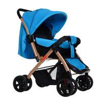 baby car sunshade - The new four year old baby stroller wheel barrow portable sunshade umbrella car
