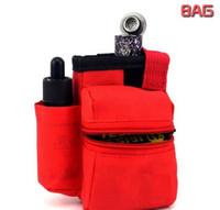 Cheap E-cigarette bag vapor ecigs bag mechanical mod ecig bag ego leather bag for aspire Plato The Panzer 200W