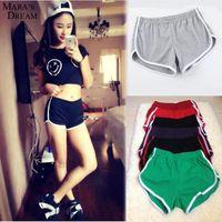 american apparel yoga pants - Cotton Short Pants Women Sport Shorts Running Gym Fitness Summer Women s Shorts American apparel jogging yoga short femme