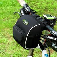basket for folding bike - Hot Multifunctional D Waterproof Outdoor Front Basket Handlebar Bag for folding bicycle mountain bike Cruise Bike