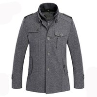 designer clothes for men - New Arrival Jackets for Men Coat Casual Jacket Mens Clothing Designer Windproof Wool Autumn and Winter Jackets Casual Men Overcoat