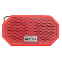 bee speaker - New Bee Portable Pocket Waterproof Shower Shockproof Wireless Bluetooth Speaker With Mic CSR V4 Bluetooth For IPhone Samsung LG
