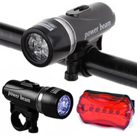 bicycle lights sale - High Quality Waterproof LED Cycling Bicycle Front Head Light Bike Lamp Safety Rear Flashlight Hot Sale