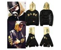 ape men - 2016 New Fashion shark hoodie WGM logo autumn winters ape velvet camouflage men s clothing