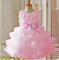 photos clothes - High Quality New Girl Dress Chiffon Children Clothing Kids Dresses For Girls White Princess Dress Girls Party Flower Girl s Dresse