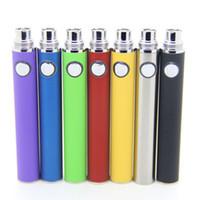 Wholesale Top Quality Evod Ego Series Battery mah E Cigarette Batteies for E Cig eGo T T MT3 ce4 ce4 ce5 GSh2 Atomizer