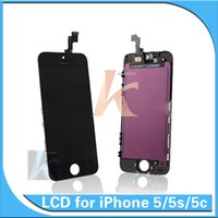Wholesale AAA Quality iPhone G iPhone S iPhone C LCD display with touch screen digitizer complete screen