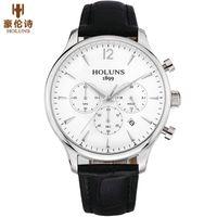 atm movement - 2016 HOLUNS Men s Quartz Wristwatch Sport ATM Water Resistant Movement Wrist Watch Luxury Male Clock Relogio With Gift Box