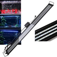 aquarium light bracket - 120CM LED Aquarium Led Lighting Fish Tank Coral Bracket Light Lamp V Fish Tank Accessories Best Quality