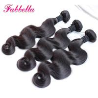 Wholesale Cheap Good Remy Hair - Cheap Hair! Virgin Peruvian Hair Good Quality Remy Human Hair Wavy Body Wave Weave Natural Color Hair Extensions Free Shipping