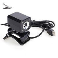 Wholesale 5 MP LED HD Webcam Web Camera MIC for Computer Black High Quality