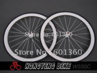 Wholesale Newest white carbon bicycle wheel mm carbon clincher wheelset c bicycle wheel c bicycle carbon wheel