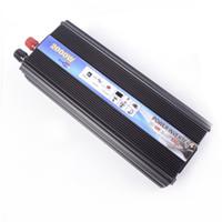 Wholesale Freeshipping w Car Power Inverter DC V To AC V V Modified Sine Wave Converter