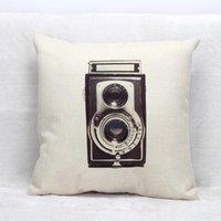 antique pillow cases - Decor pillow covers home antique camera pillow cover chair pillow case Product