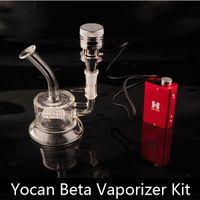 beta technology - 100 Original Yocan Beta Vaporizer Kit Yocan Nero Technology Pure Metal Detachable Atomzier Dry Herb Tank VS Yocan Ultron Thor E Cig
