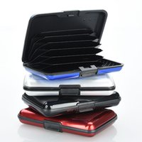 aluma clutch - Deluxe Aluma Case Wallet Credit Card Holder Protect RFID Scanning Metal