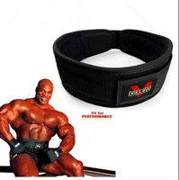 Wholesale New Fitness Protection Weightlifting Belts Bodybuilding Belt Back Waist Support Training Weights Belt Free Shiping