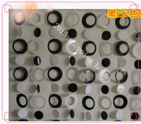 Wholesale 011 Home decoration for kids room decorative curtain plastic Lovely gifts black white round shaped width cm height cm