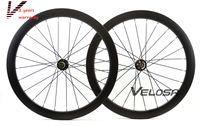 Wholesale New arrival full carbon road disc brake wheelset mm clincher tubular C road bike disc brake wheelset