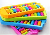 articles educational toys - 1pcs Math toys Abacus Educational study article Suitable for students and children toy woody toy goat