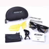 Wholesale high quality TR ESS CROSSBOW military goggles lens bullet proof goggle tactial eyewear military Activity glasses