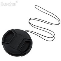 Wholesale Camera Lens Cap Protection Cover mm mm mm mm mm mm mm mm With Anti lost Rope
