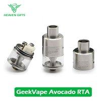 avocado juice - Latest Product Original GeekVape Avocado Genesis RTA Tank ml E juice Capacity Genesis Structure with Replaceable Drip Tip