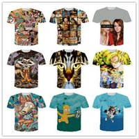 animated shorts - 2016 Summer in Europe and the man short sleeve T shirt hd d printing animated cartoon Simpson