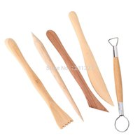 Wholesale New Pottery Clay Wax Ceramics Modeling Sculpture wood carving Tools Set