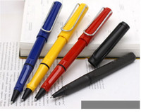 ball steel cans - Lamy Safari Roller Ball Pen Blue Black Green White Yellow etc ten colors can Choice