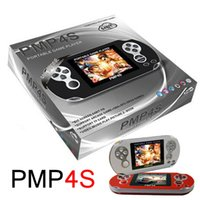 arcade card games - PMP S Game Players Inch Bit GB Video Game PMP4s Consoles Portable Pocket Handheld Game Players Support TF Card Expansion Toys
