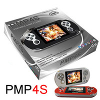 Acheter Video games-PMP 4S Game Players 2,6 pouces 64 Bit 2 Go Video Game PMP4s Consoles Portable Pocket Handheld Game Players Support TF Card Expansion Toys