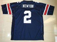 Wholesale Cam Newton Auburn Jerseys Men s Auburn Tigers Cam Newton College Stitched Embroidery Logos Football Jersey S XL
