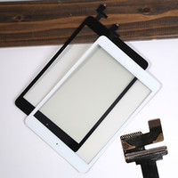 Wholesale Black Touch Screen Digitizer with Home Button and IC Connector Assembly for iPad mini
