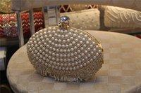 acrylic lock boxes - Fashion oval Women Evening Bags Evening Powder Ball Women Clutch Box Women Messenger Bags
