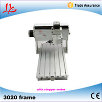 Wholesale 3020 CNC frame of Engraver Engraving Drilling and Milling Machine With stepper motor