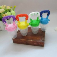 Wholesale New Kids Nipple Fresh Food Milk Nibbler Feeder Feeding Safe Baby Supplies Nipple Teat Pacifier Bottles