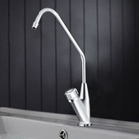 Wholesale Chrome finish single handle rotatable Bathroom basin mixer kitchen faucet cold and hot water mixer taps