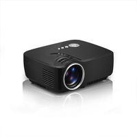 Mini proyector portátil GP70 1080P HD TV EMP LED 1200 lúmenes de cine en casa Beamer reproductor multimedia de vídeo USB SD Fácil Micro Proyectores