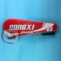 Wholesale badminton racket super junior string with bag racquet sport voltric z force ii victor arcsaber