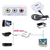 analog audio inputs - Newest HDMI input Digital to RCA Analog Audio Video Composite CVBS Output Converter AV hdmi input output