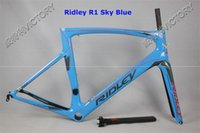 Wholesale 2016 Team Color Ridley Full Carbon Racing Road Frame UD Glossy Matt PF30 BB68 BB30 Bicycle Frameset