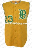 bee names - Retro Mens Burlington Bees Road Baseball Jersey yellow Throwback or Custom any number name Stitched jerseys