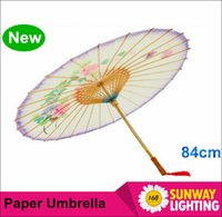 Wholesale 2016 New cm Chinese oiled paper umbrella Classical sunshade paper unbrella for cosplay decoration birthday gift