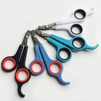 Wholesale 100 Nail Clippers Scissors Grooming Trimmer Tool for Pet Dog Cat Noe Cut Mini Profession Arrival Super Hot Sale Freeshipping
