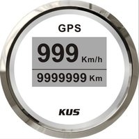 Wholesale 52mm White Digital GPS speedometer for car CCSR BS SV KY08120